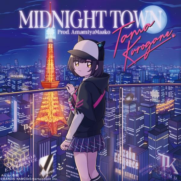 [Single] DEN-ON-BU: MIDNIGHT TOWN (Prod. AmamiyaMaako) (2021.09.16/MP3+Flac/RAR)