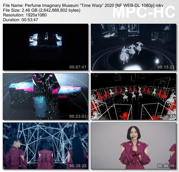 "[TV-Variety] Perfume Imaginary Museum ""Time Warp"" 2020 (Netflix)"