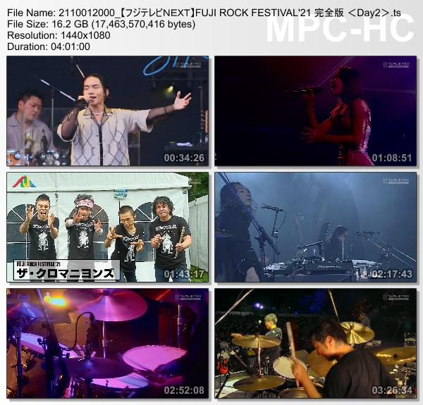 [TV-Variety] FUJI ROCK FESTIVAL'21 完全版 (FujiTV NEXT 2021.10.01)